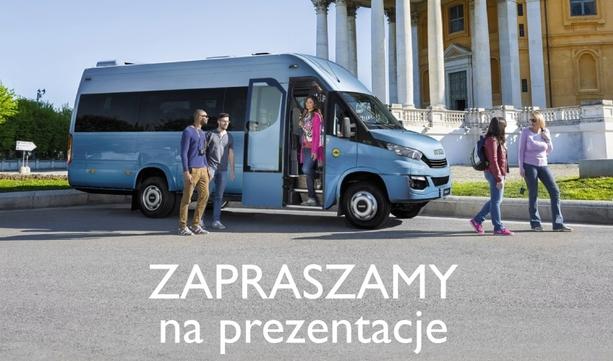 Prezentacja Daily E6 Minibus w ON ROAD 5 kwietnia
