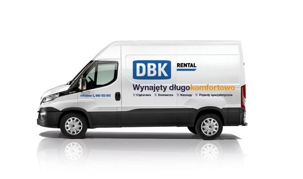 Pojazdy dostawcze Iveco DAILY w wynajmie DBK Rental.