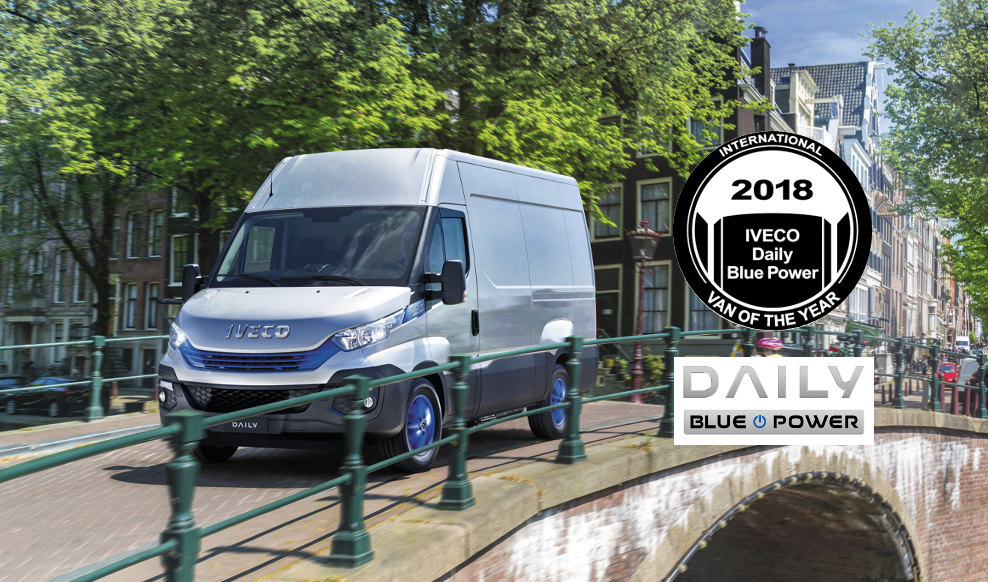 IVECO Daily Blue Power z tytułem International Van of the Year 2018